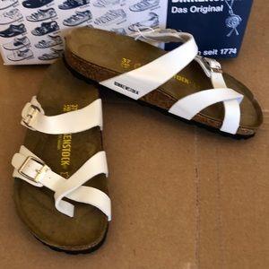 Birkenstock Shoes - Birkenstock Mayari White